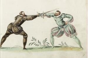 Meyer rappier fencers