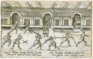 fencing hall fechtschule