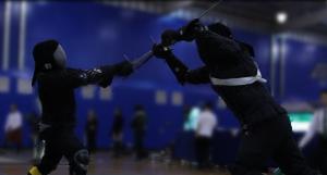 Longsword fencers festival of the sword