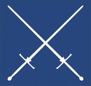 crossed longswords