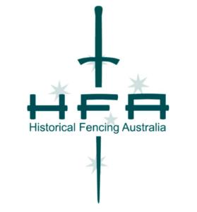 Historical Fencing Australia Logo